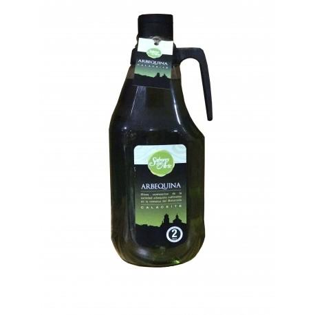 SABORES CON ARTE Aceite de oliva virgen extra Arbequina 2l