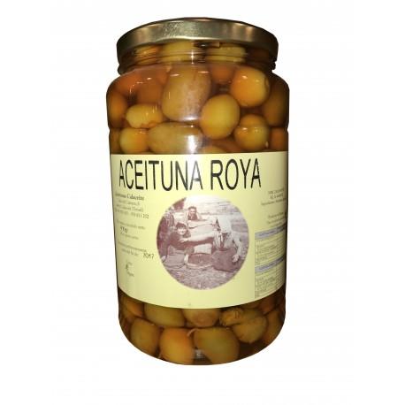 ACEITUNAS CALACEITE Aceitunas verdes ROYA 1 kg