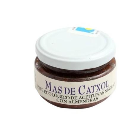 Mas de Catxol -Paté ecológico de aceitunas negras con almendras