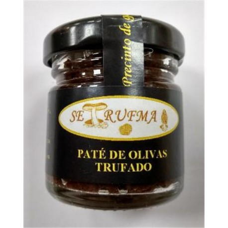 PATÉ DE OLIVA TRUFADO